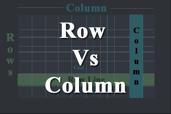 row vs column