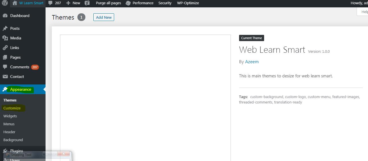 change link color in wordpress